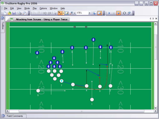 Rugby Pro 2006 Screenshot