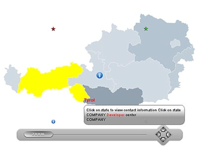 Zoom Map of Austria Screenshot 1