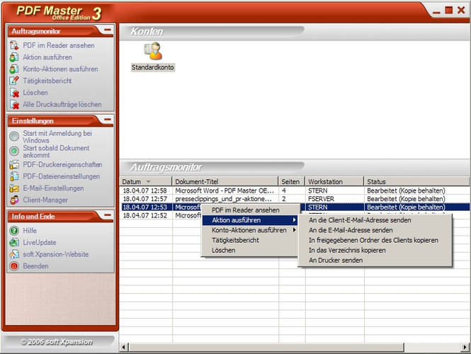 PDF Master Office Edition Screenshot 2