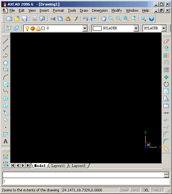 AXCAD 2007 Screenshot