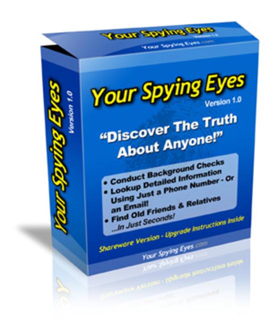 Your Spying Eyes - Criminal Records Search Bot Screenshot