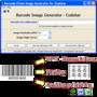 Codabar barcode prime image generator 1