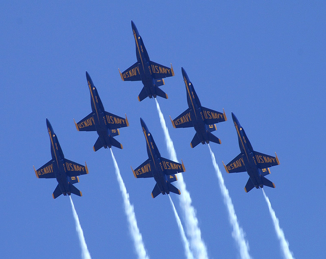 Best of Blue Angels Screensaver Screenshot