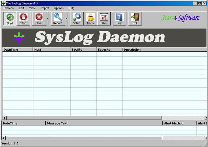 Star SysLog Daemon Screenshot 1