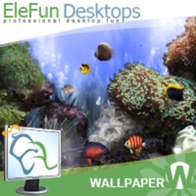 Anemone`s Reef - Animated 3D Wallpaper Screenshot 1