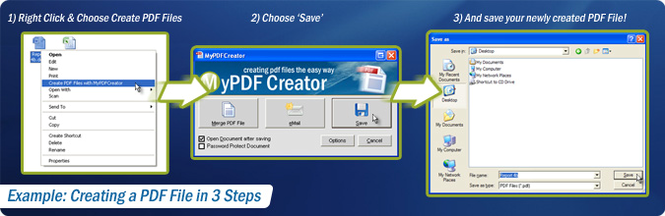 MyPDFCreator Vista Screenshot