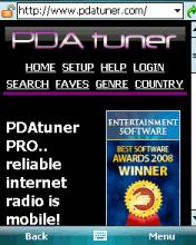 PDA Tuner Pro Screenshot