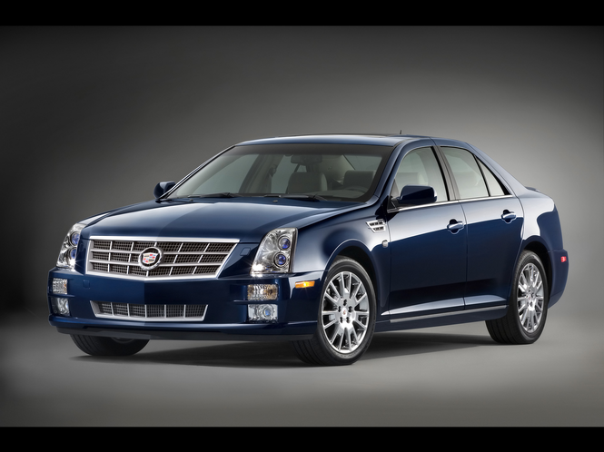 Cadillac STS Screensaver Screenshot