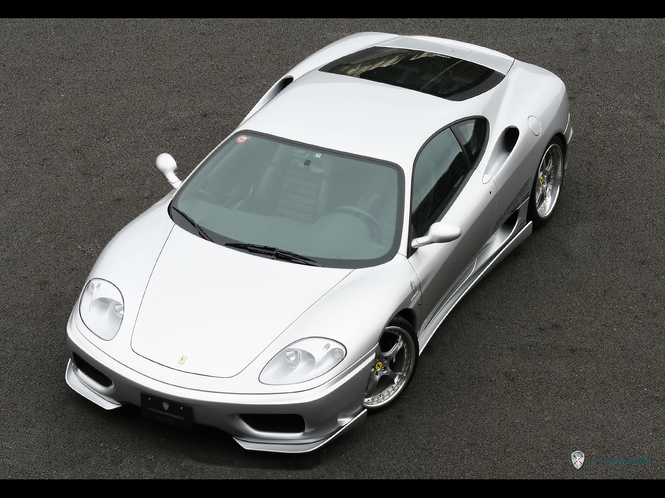 Ferrari 360 Modena Screensaver Screenshot