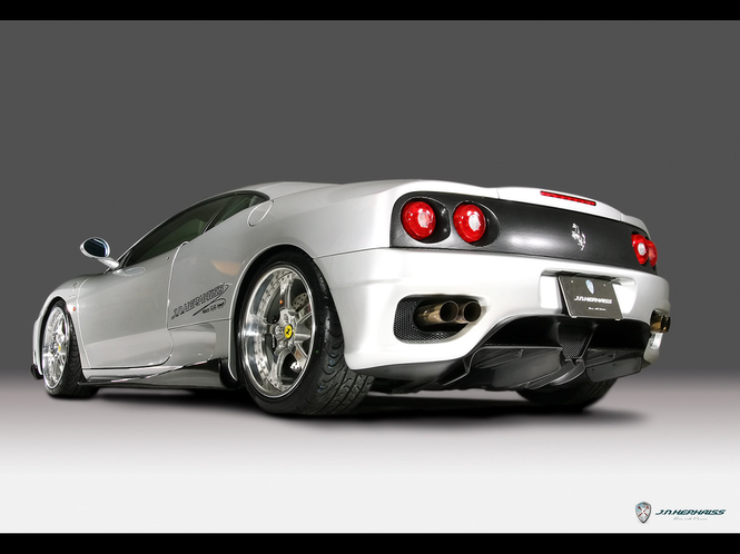 Ferrari 360 Modena Part 2 Screensaver Screenshot