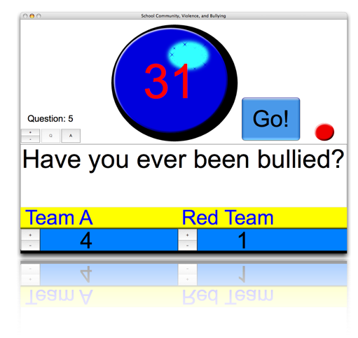 FRS Classroom Game Show Screenshot