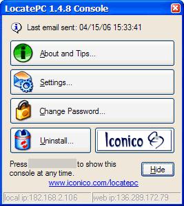 LocatePC Screenshot