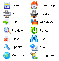 Advanced Icon Set Screenshot
