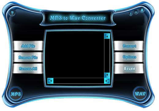 Advanced MP3-WAV Converter Screenshot 1