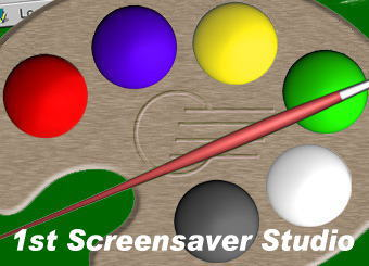 1st Screensaver Flash Studio Professional Screenshot 1