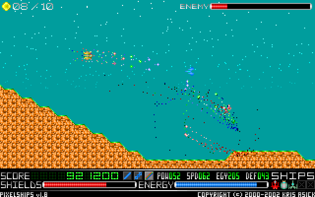 PixelShips Screenshot