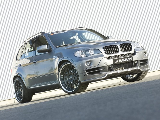 Hamann BMW X5 Screensaver Screenshot
