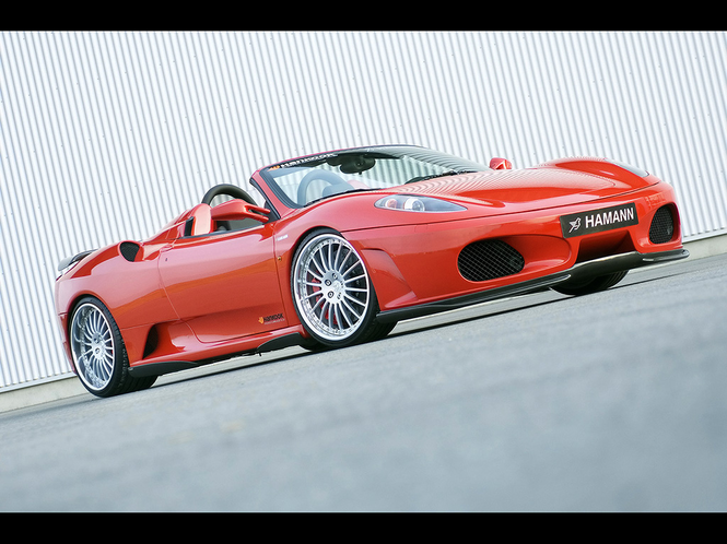 Hamann Ferrari F430 Screensaver Screenshot 1