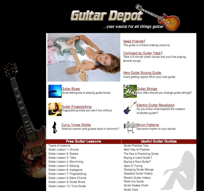 Complete Guitar Resource FREE Screenshot 1