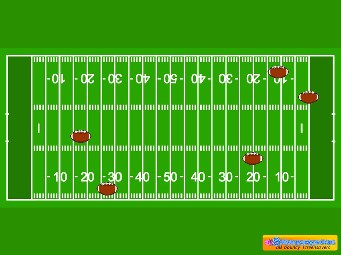 American Football screensaver Screenshot