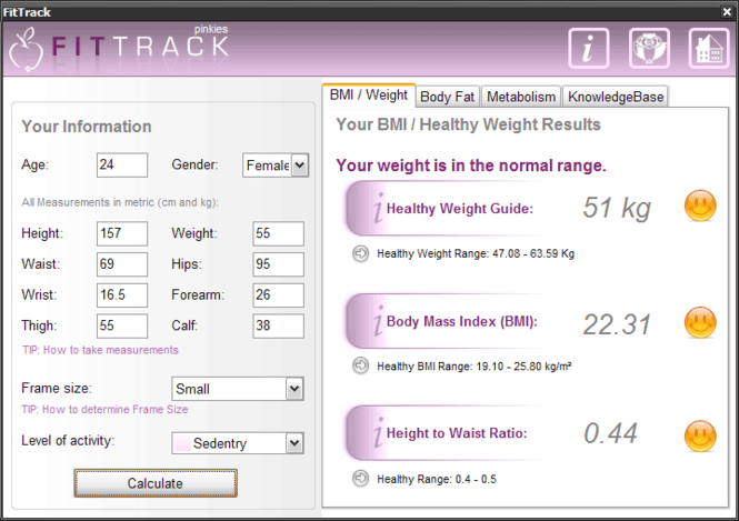 FitTrack Screenshot 1