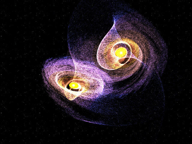 Colliding Galaxies Screenshot 1