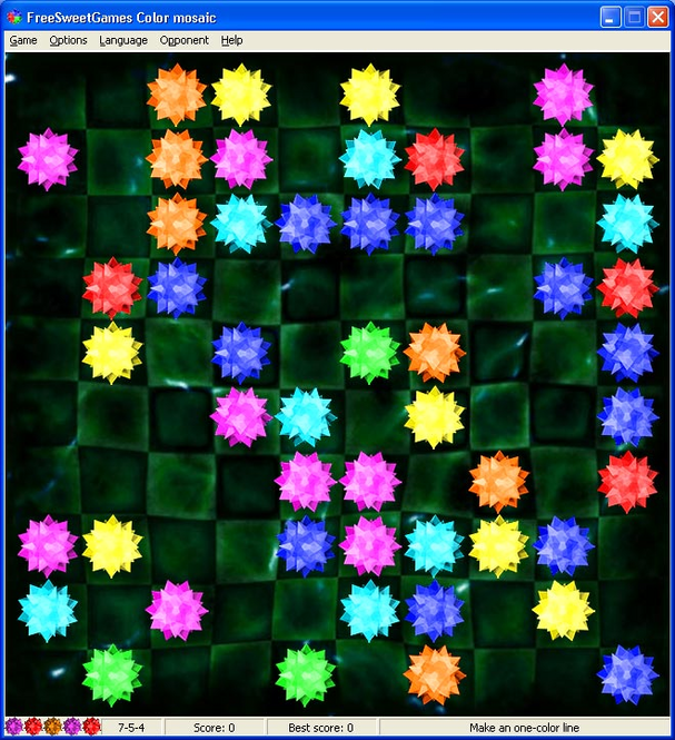 ColorMosaic Screenshot