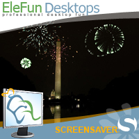 The Washington Memorial - Animated Screensaver Screenshot 1