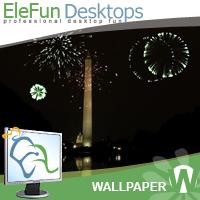 The Washington Memorial - Animated Wallpaper Screenshot 1