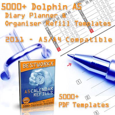5000+ Calendar 2009 Templates A5 Paper Screenshot 2