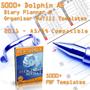 5000+ Calendar 2009 Templates A5 Paper 2