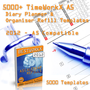 5000+ Calendar 2009 Templates A5 Paper 1