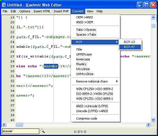 Kashmir Web Editor Screenshot 1