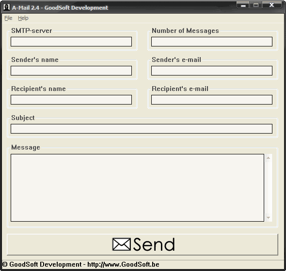 A-Mail Screenshot