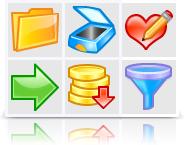 Artistic Icons (Vector + pixel set) Screenshot