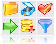 Artistic Icons (Vector + pixel set) Screenshot 1