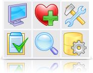 XP Artistic Icons (Vector + pixel set) Screenshot 1