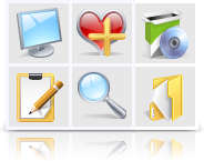 Realistic Icons (Vector + pixel set) Screenshot