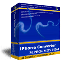 iPhone Converter - iPhone/iPod/MP4/MOV/H264 Converter Screenshot