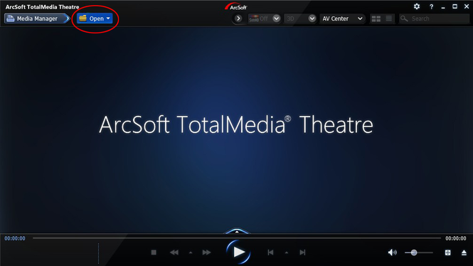 ArcSoft TotalMedia Theatre 6 Screenshot 1