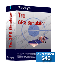 Tro GPS Simulator-Silver Screenshot