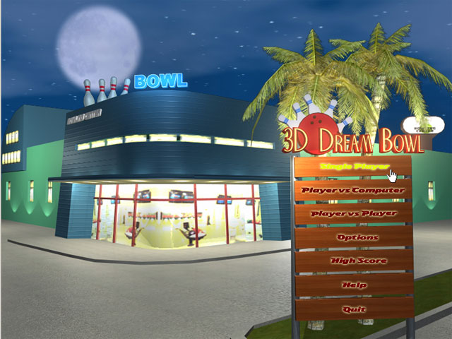 3D Dream Bowl Screenshot