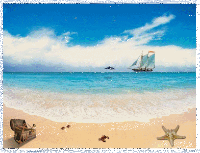Tropical theme screensaver Screenshot 1