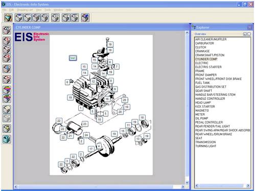 Ersatzteilkatalog, Spare Part Catalog Screenshot 1