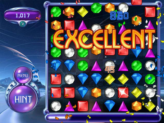 Bejeweled 2 Deluxe Screenshot
