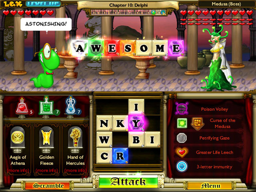 Bookworm Adventures Deluxe Screenshot