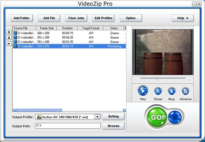 VideoZip Pro Screenshot 1