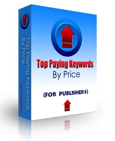 Top Paying Keywords (by price) Screenshot