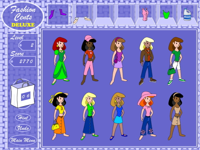 Fashion Cents Deluxe Screenshot