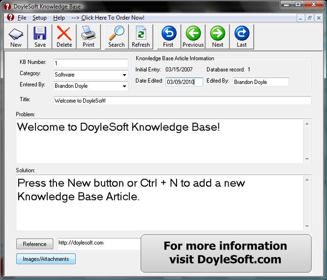 Knowledge Base Screenshot 2